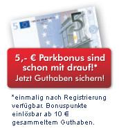 KÖ Bonuscard mit Parkbonus als Parkcard