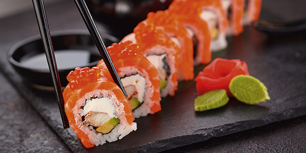 Genießen sie köstliche Sushi Spezialitäten