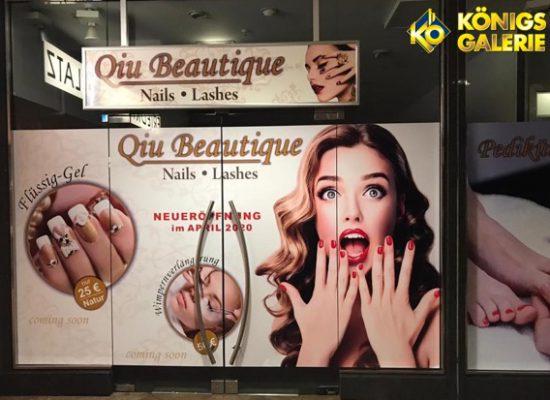 Neueröffnung demnächst! Qiu Beautique – Nails & Lashes