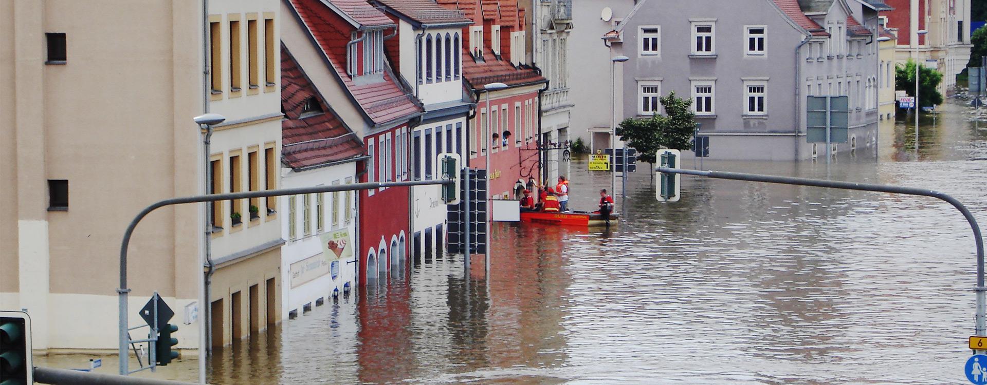 Hochwasser-Spenden-Aktion